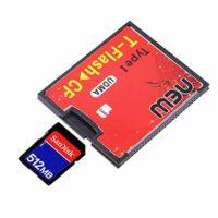 Comparatif des meilleurs compacteurs de déchets # 4 Peanutaor Rouge & Noir 4.3 x 3.5x0.4cm Equipé d'une Prise Push-Push T-Flash vers CF type1 Adaptateur UDMA pour Carte mémoire Compact Flash